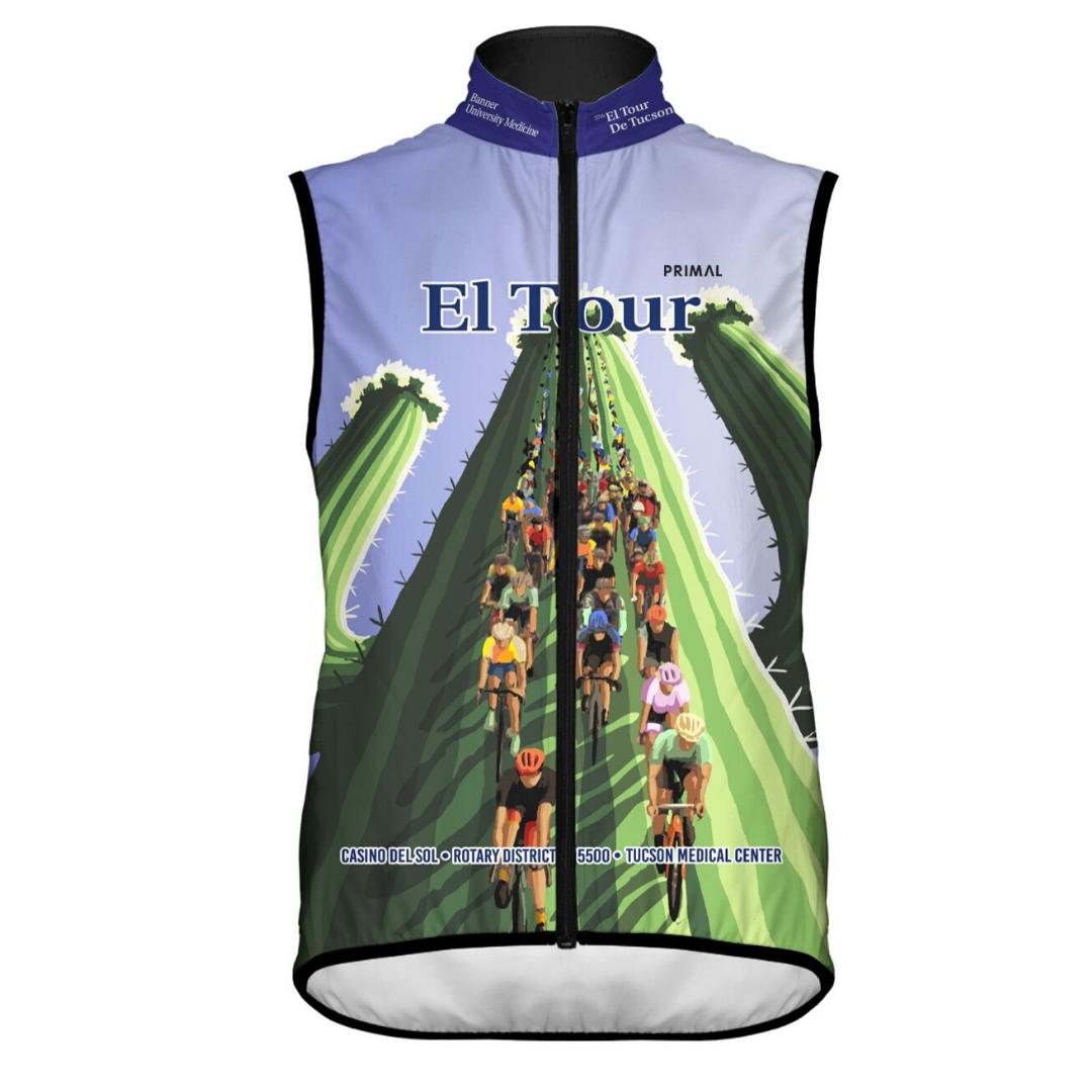 Men's 2019 El Tour Wind Vest
