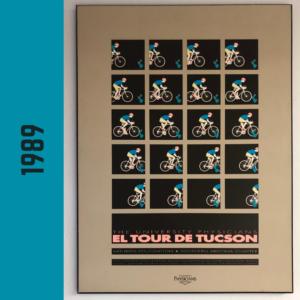 El Tour Poster 1989