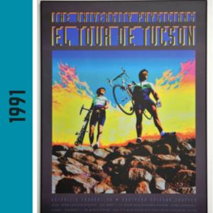El Tour Poster 1991