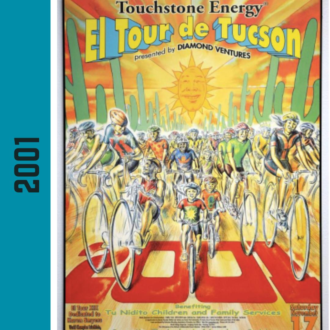 El Tour Poster 2001