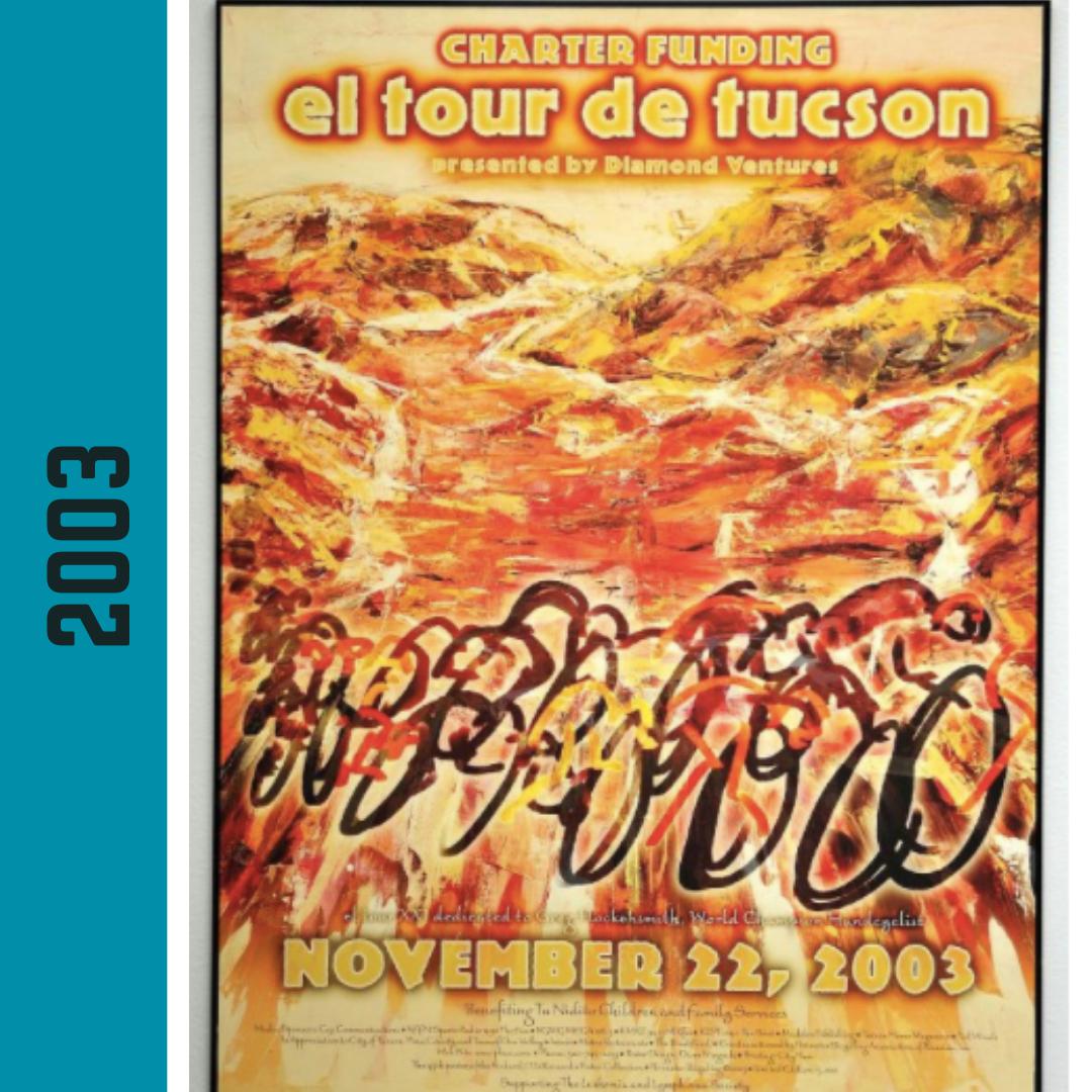El Tour Poster 2003