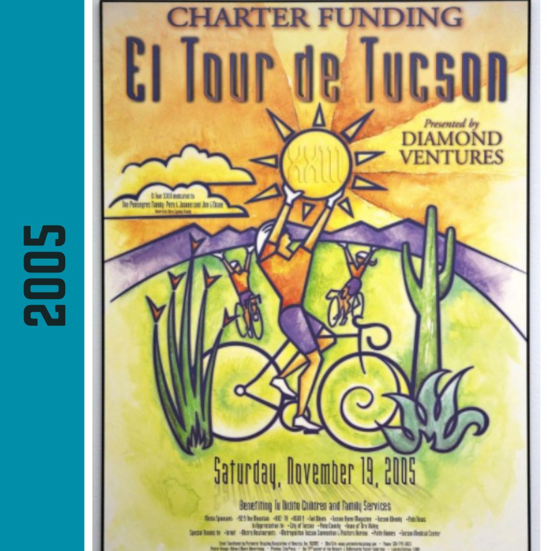 El Tour Poster 2005