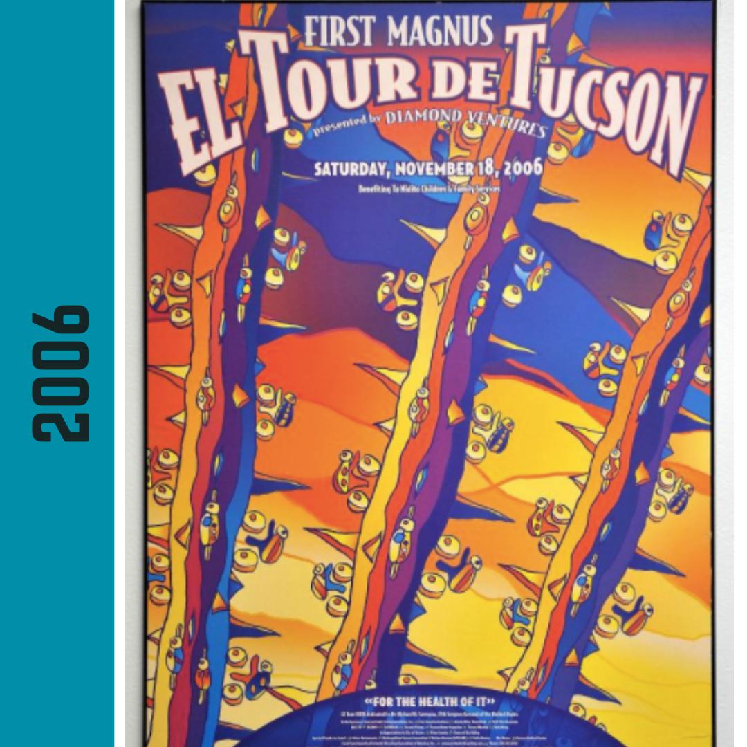 El Tour Poster 2006