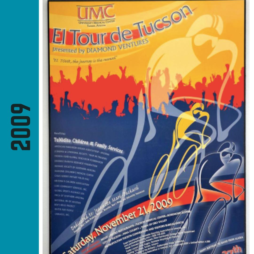 El Tour Poster 2009