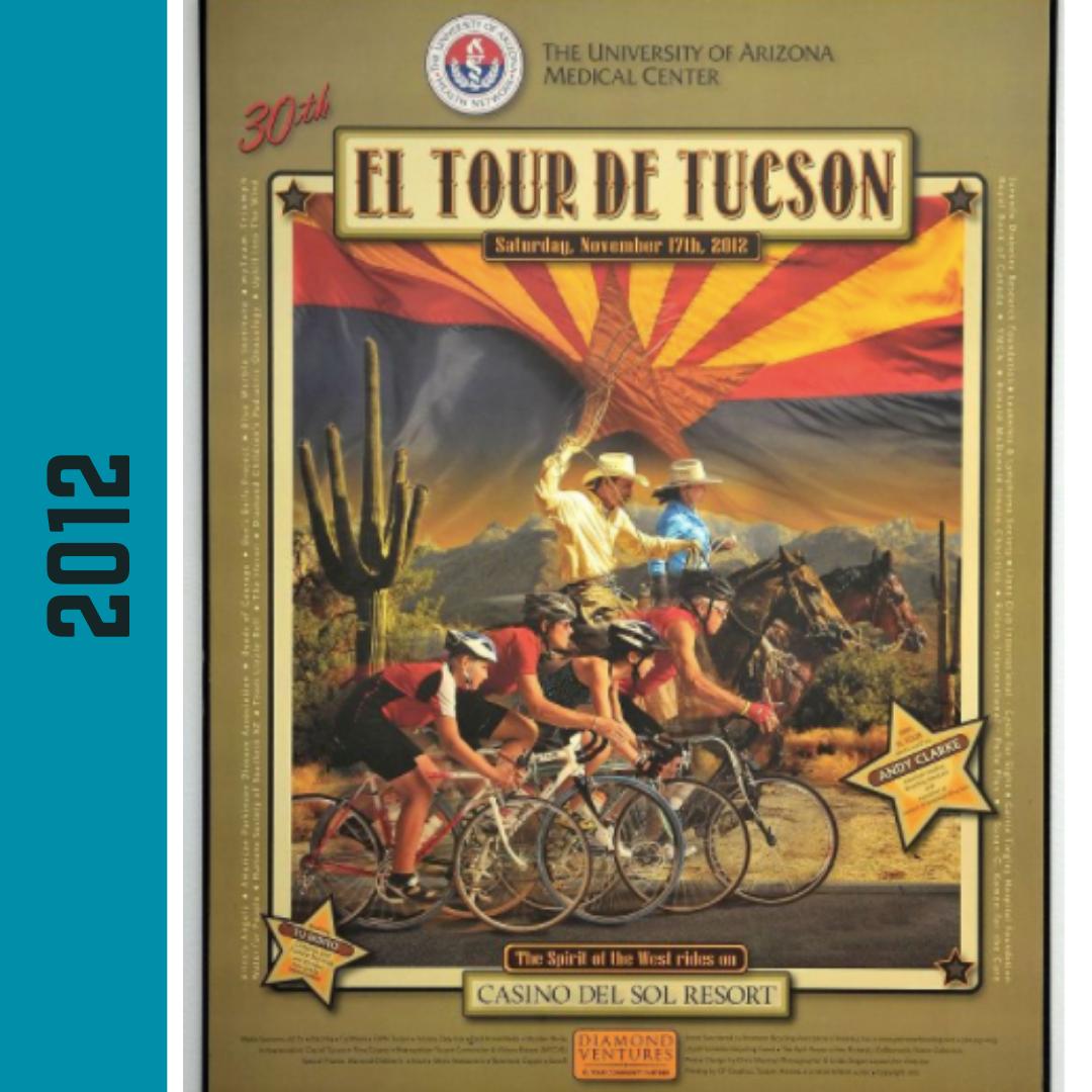 El Tour Poster 2012