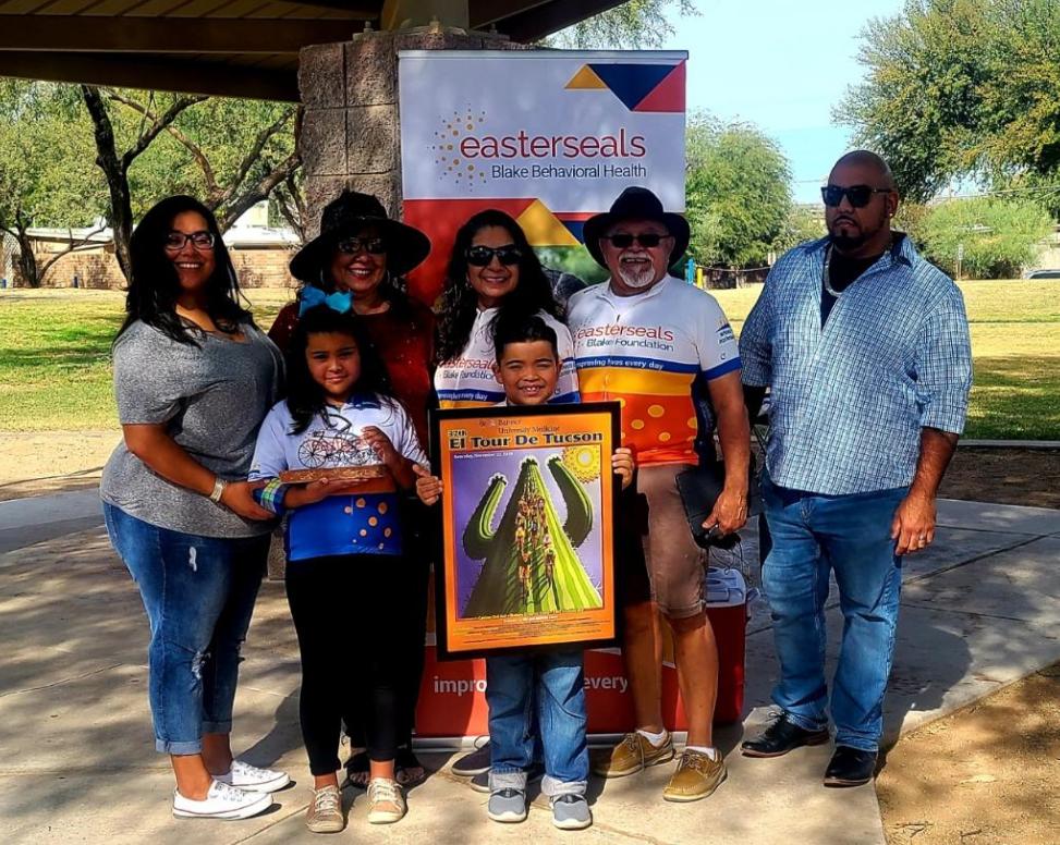 El Tour de Tucson's Youngest Rider Honored
