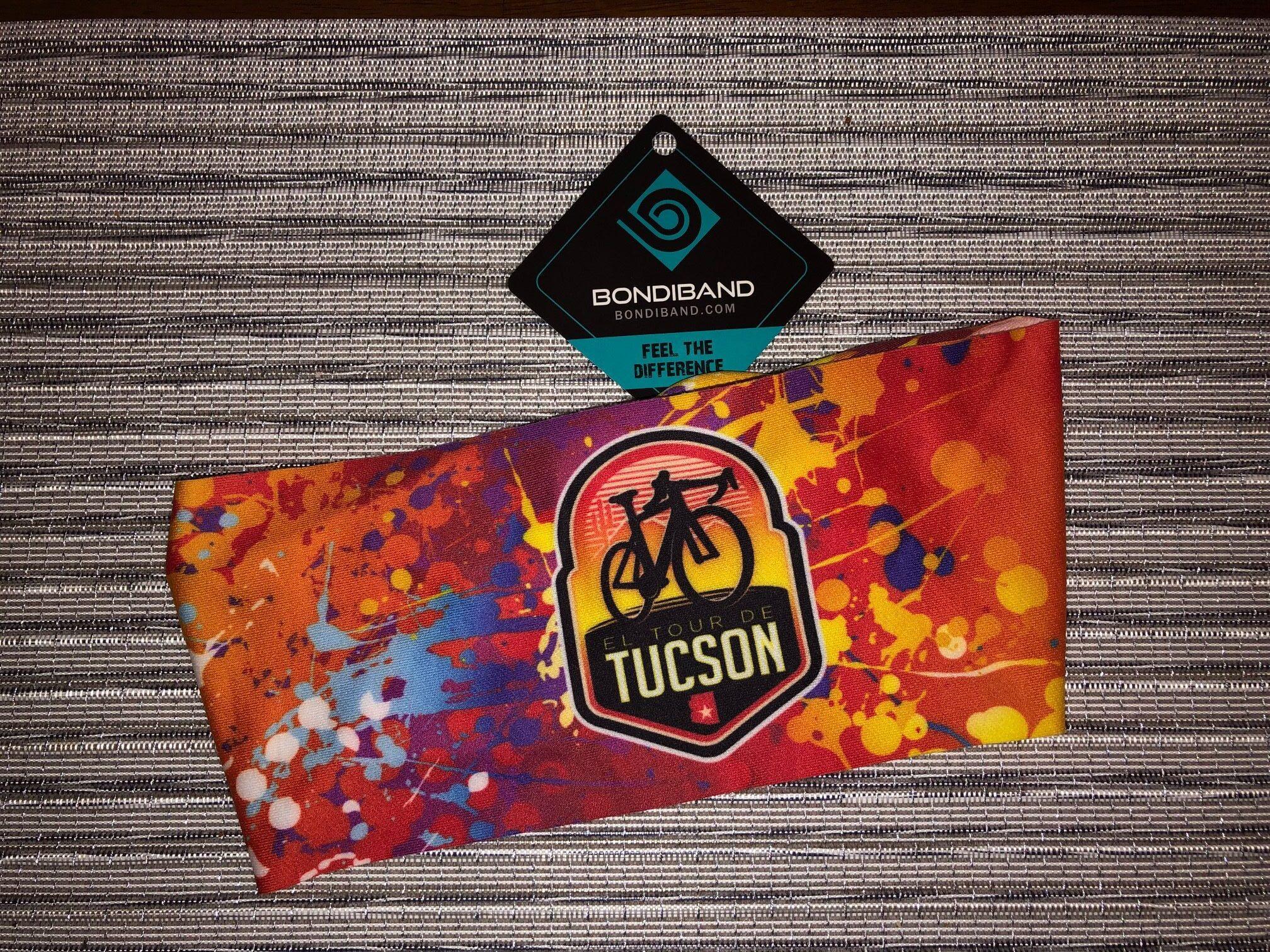 El Tour BondiBand Moisture Wicking Headband – Painted Sky