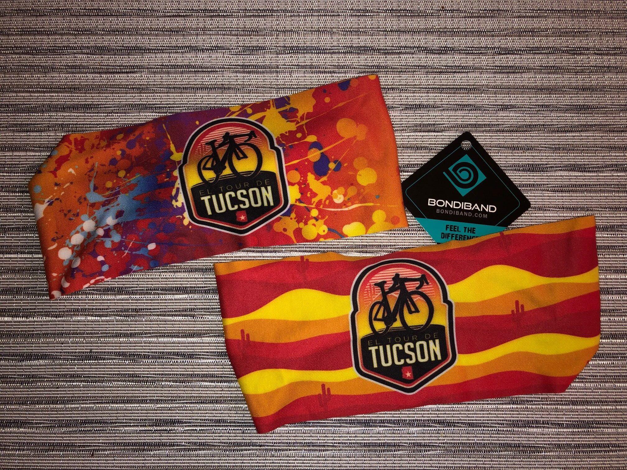 El Tour BondiBand Moisture Wicking Headband – 2 Pack
