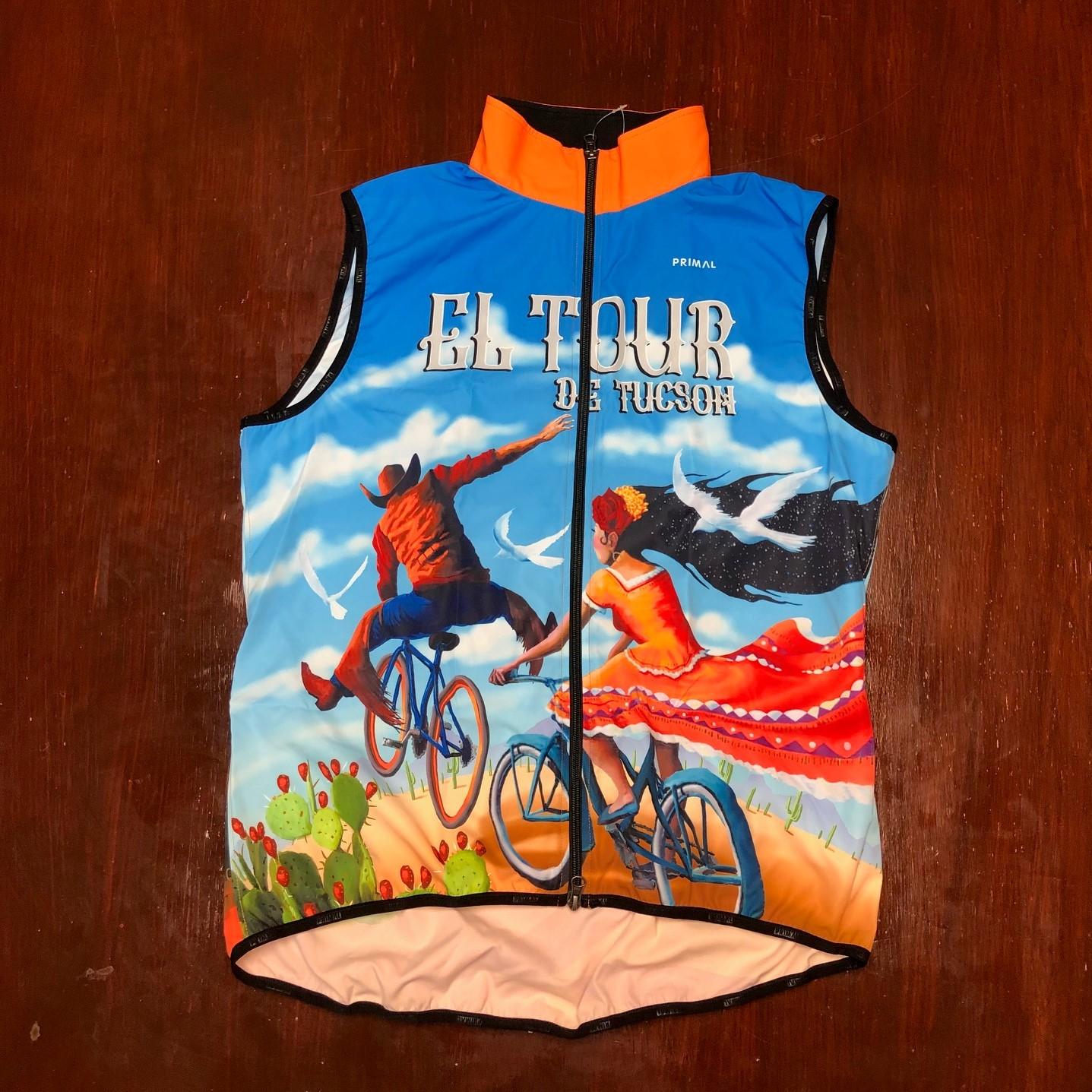 38th El Tour Wind Vest