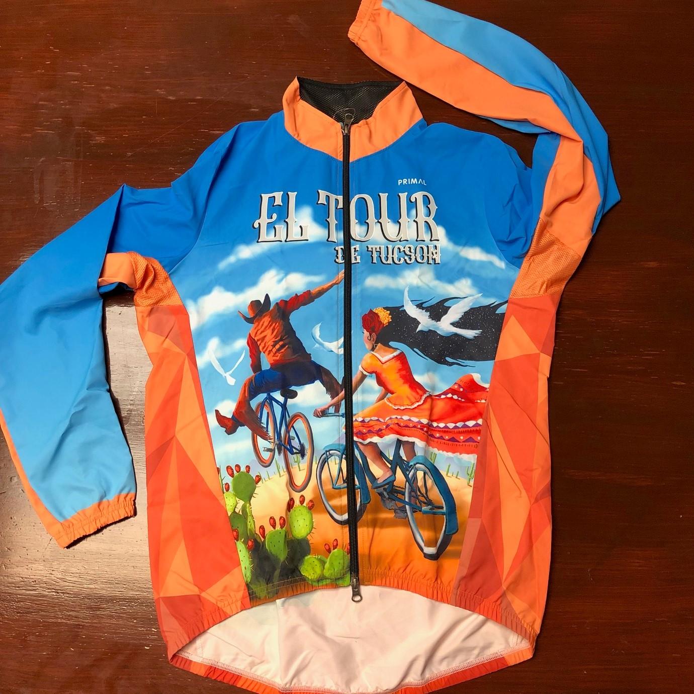 38th El Tour Windshell Jacket